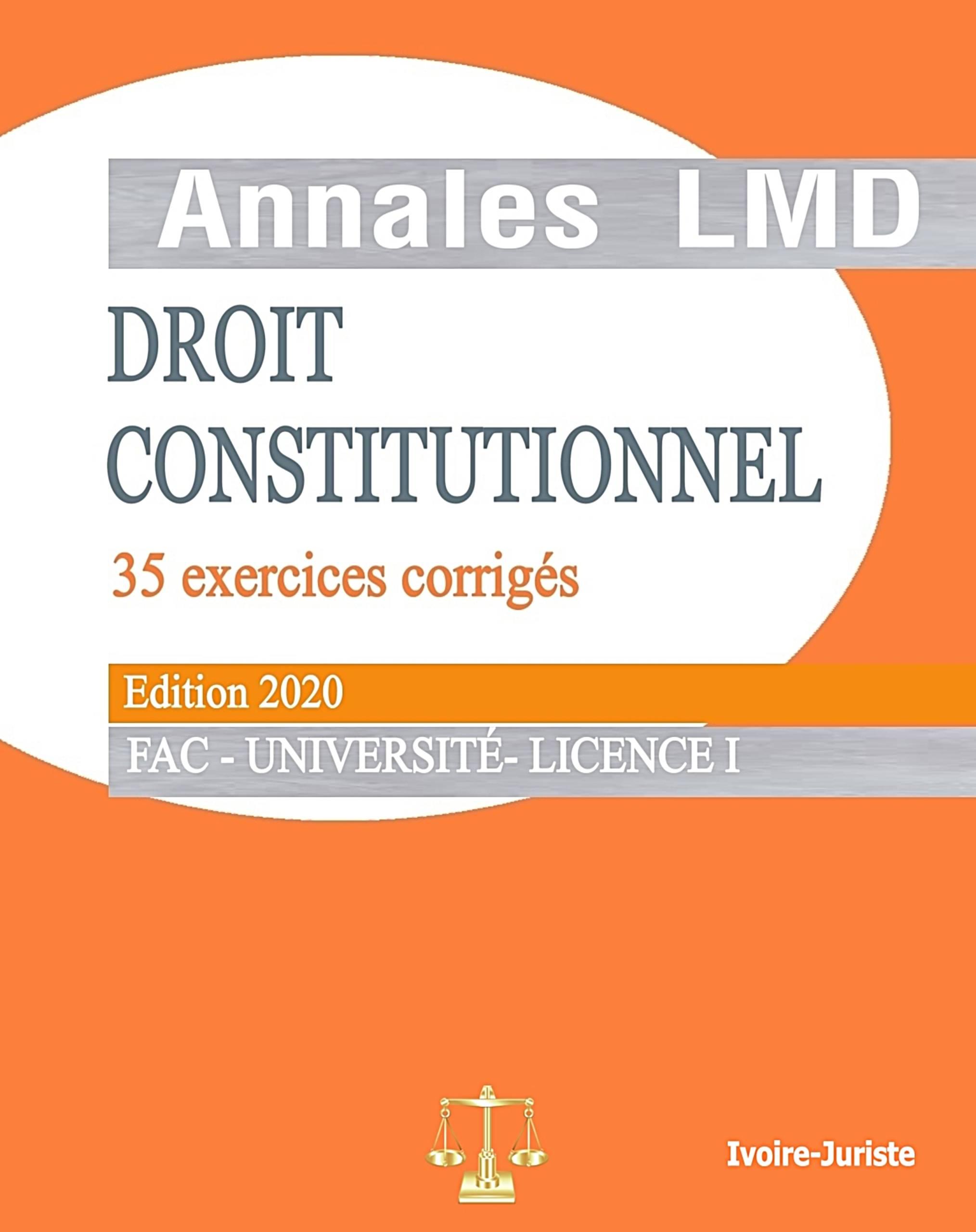 Annale de droit constitutionnel ivoirien