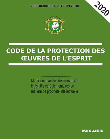Code de la protection des œuvres de l'esprit