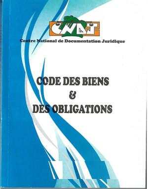 Code des biens et des obligations