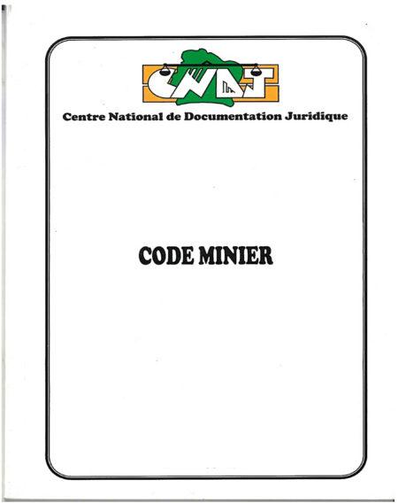 Code Minier ivoirien
