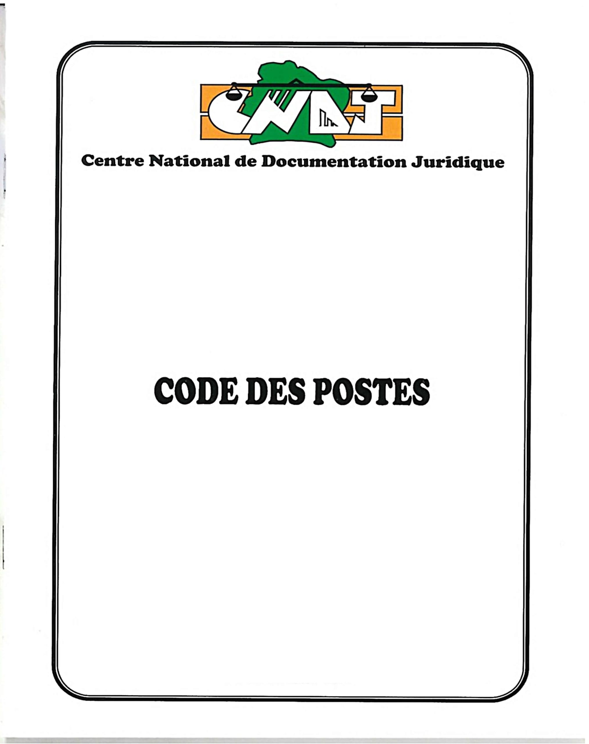 Code des Postes