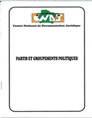 Partis et Groupements Politiques