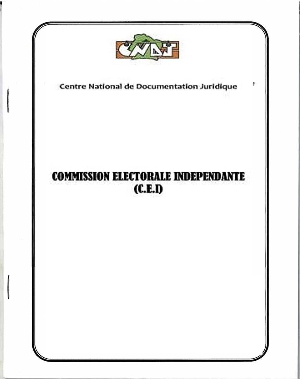 Commission Électorale Indépendante