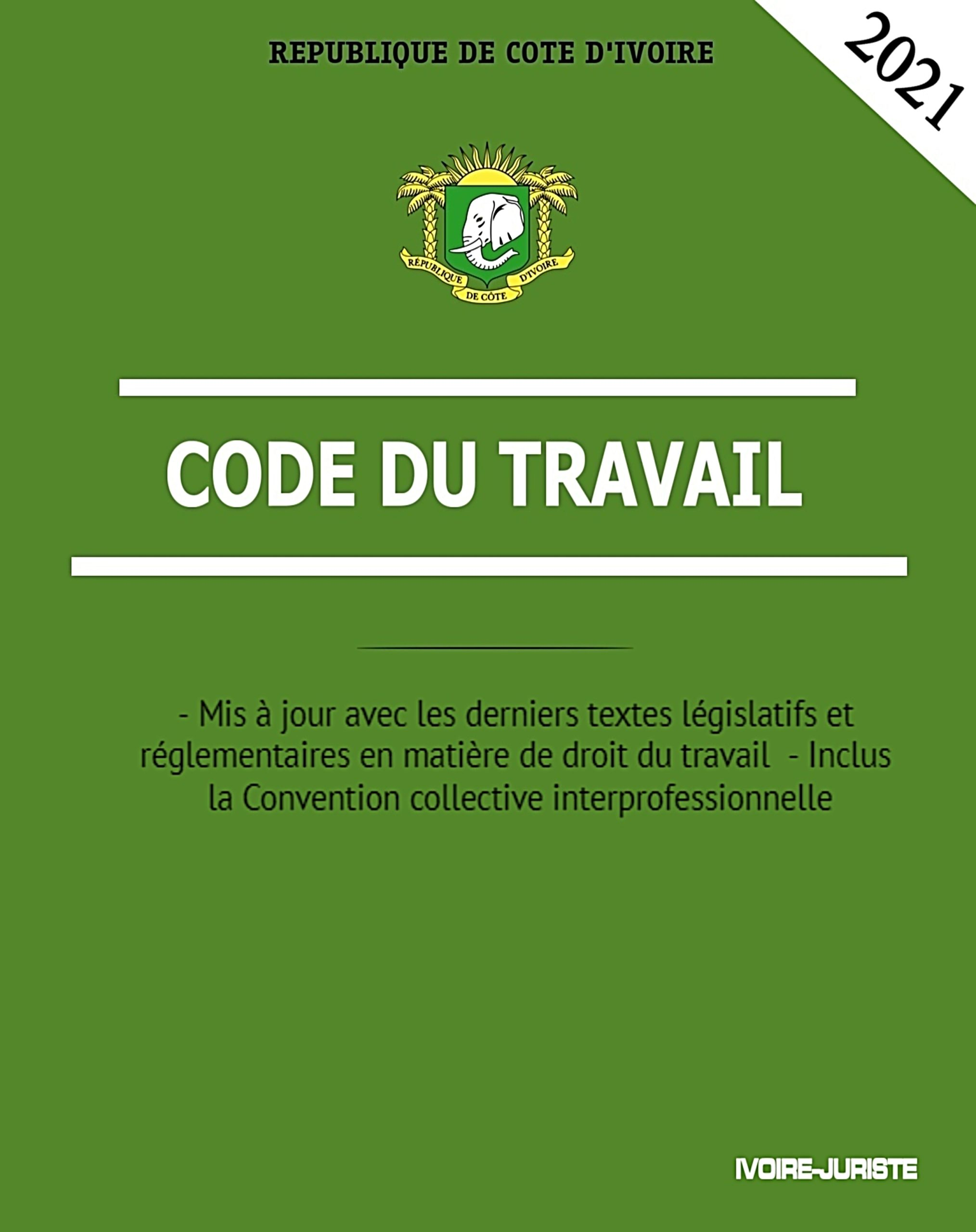 Code du travail ivoirien 2021