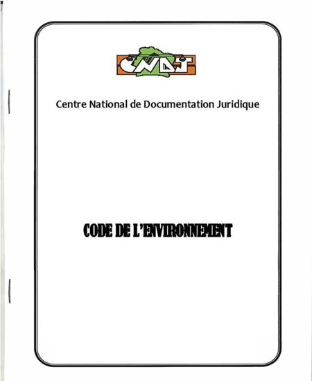 code de l'environnement ivoirien
